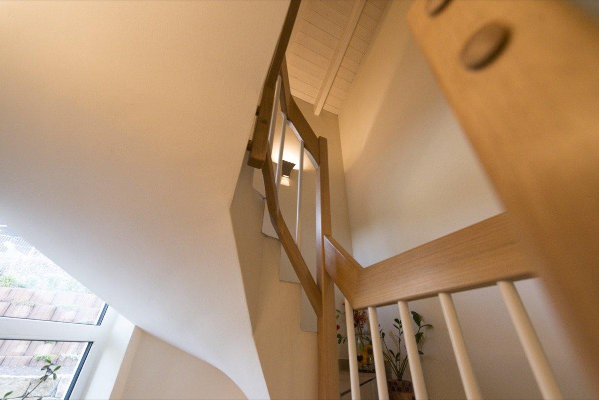 Treppengeländer Verkleiden betontreppe mit holz verkleiden gatterdam treppen