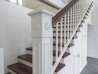 Individuell gefertigter Treppenpfosten