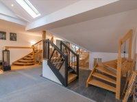 Materialmix V2A - Glas - Stein - Holz