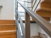 Treppengeländer mit Eisenglimmer