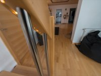 Treppenhandlauf mit LED Beleuchtung