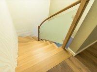 Stufen ohne Wandabstand
