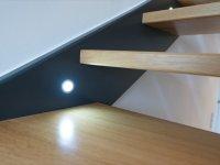 Stufenbeleuchtung mit Bewegungsmelder bringen auch nachts Trittsicherheit