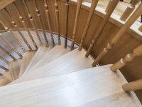 Individuell gedrechselte Treppenstäbe