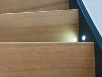 Treppenstufen Eiche massiv astrein