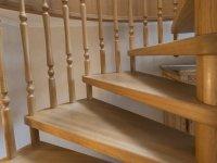Treppenstufen in klassischer Form